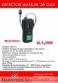 Detector Manual de Gas