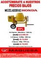Promocion de Mezcladoras Motor Honda