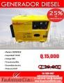 Generador Diesel 7500w