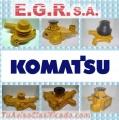 Recontrucción Bomba de Agua  Komatsu