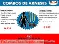 ARNESES ANTI CAIDAS Y ACCESORIOS