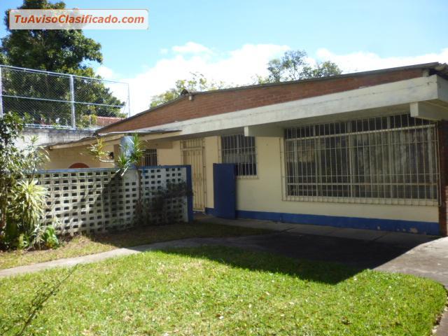 Vendo Casa De Terraza De Un Nivel En Mariscal Zona 11 No