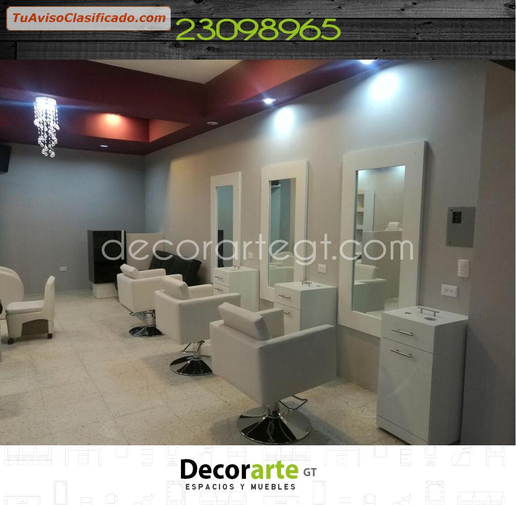 Marco de espejo para salones de belleza decorarte gt - Espejos de salon ...
