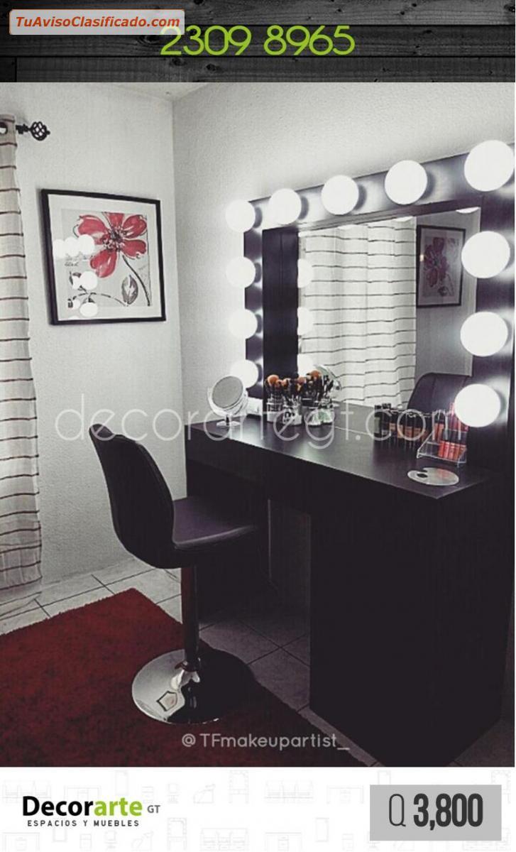 Muebles Salon De Belleza : Muebles para salón de belleza barbería y spa decorarte