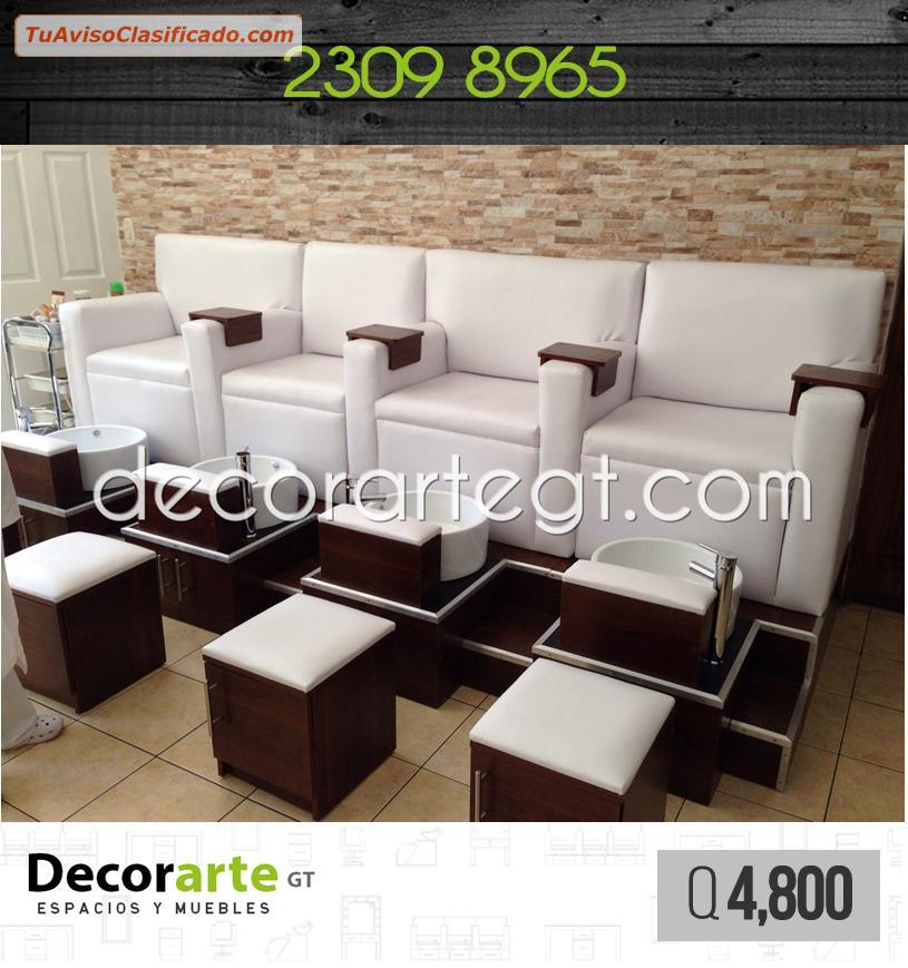 Mobiliario para pedicure decorarte gt mobiliario y equipamie - Sillas para pedicure ...