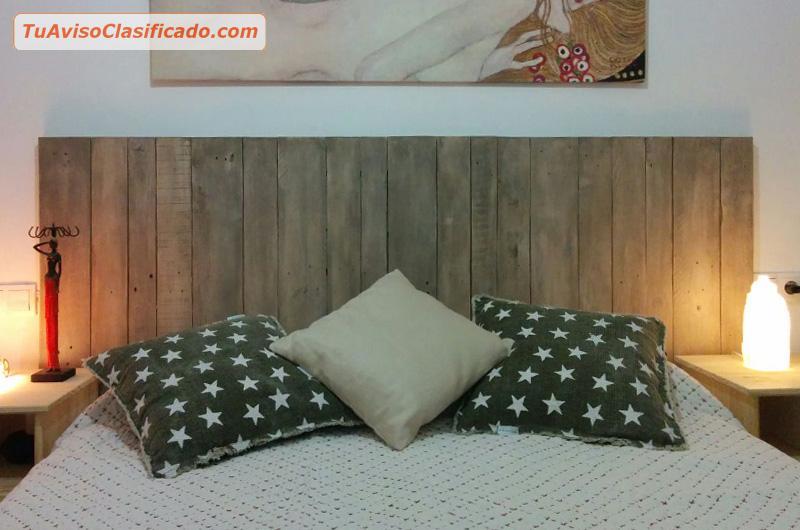 Hermosas cabeceras de palets mobiliario y equipamiento for Cabeceras de cama con tarimas