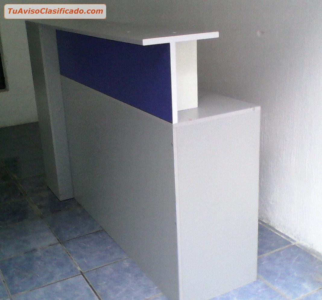 Mueble alto para atencion al cliente en oficinas for Precios de muebles para cafeteria
