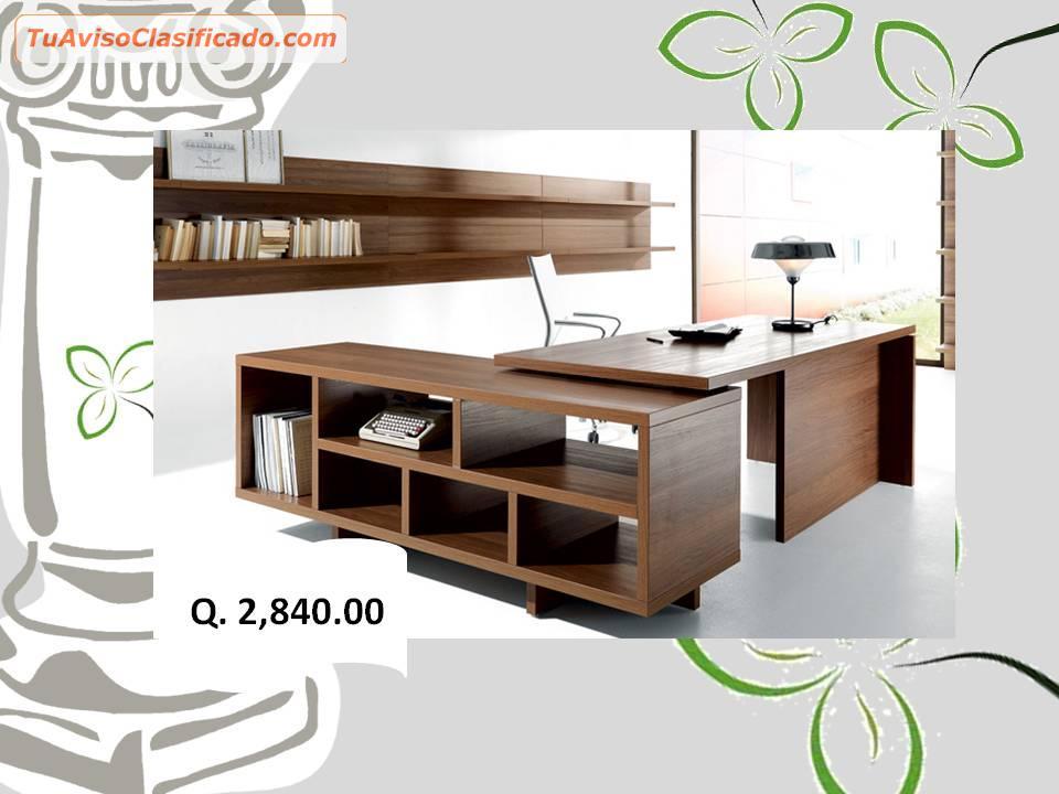 Modernos escritorios de oficina art culos de oficina y for Mobiliario de oficina moderno