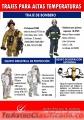 TE OFRECEMOS TRAJES DE BOMBERO A UN BUEN PRECIO!!
