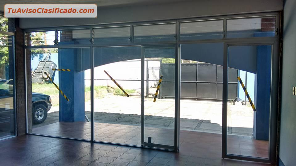Hb ventanas m s puertas y ventanas en aluminio y pvc vidri - Puertas en aluminio y vidrio ...