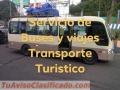 """Viva la Experiencia de Viajar en Nuestras Unidades y con Nosotros"""""""