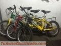 3 bicicletas para niños 5-8 años
