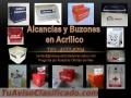 Buzones Publicitarios en Acrilico